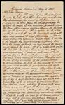 Letter to John Drew from Thomas W. Mahoney concerning a meeting with John Ross