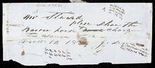 Letter from John Drew to William Stewart