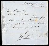 Letter from William P. Denckla to John Drew