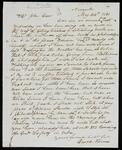 Letter from David Vann to John Drew