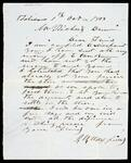 Letter from J. W. Maxfield to Richard Drew concerning his unpaid debt
