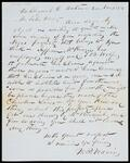 Letter from W. P. Adair to John Drew regarding Negro property and a lawsuit