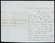 Letter from Landon O. Mason to Joab Scales concerning quality of salt delivery