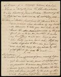 Record of Conversation between John Lowry and President James Madison