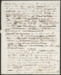 Draft Copy of Letter from Chief John Ross to Brother Lewis Ross