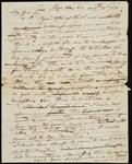 Draft Copy of Letter from Chief John Ross to William Y. Hansell