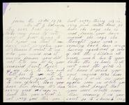 Personal letter from Elizabeth Robinson to her son, W. G. Robinson regarding his wife and crops