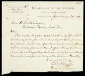 Letter from E. A. Hayes to W. G. Robinson concerning permits for farm laborers