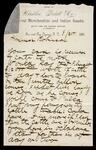 Letter from A. C. Brown addressed to Friend Robinson concerning cattle