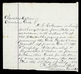 Permit for Blankenship and Reynolds to labor as farmers in the Canadian District of the Cherokee Nation