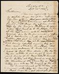 Draft letter from Chief John Ross to Colonel S. Rockwell and William Y. Hansell