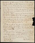Resolution Regarding the Disposition of School Fund Due Under May 6, 1828 Treaty
