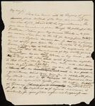 Two Draft Copies of a Letter from Chief John Ross to John Howard Payne
