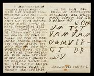 Letter written in Cherokee