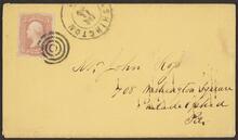 Envelope Addressed to Ross