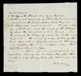 A letter from V. D. Barry with steps outlining what is needed to prove Aggy is the child of a slave by an Indian