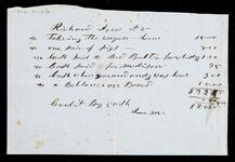 Account statement of Richard Drew