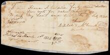 Promissory note from Delilah McConnell to Hanner A. Caldwell