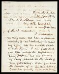 Letter from E. H. English to I. T. Adair mentioning the period of carpetbaggers and the process of the common law of property