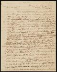 Drafts of Letter from Chief John Ross to Lewis Ross