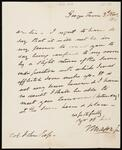 Letter from John Mason, Jr. to Chief John Ross