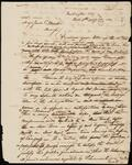 Draft Copy of Letter from Chief John Ross to Major James C. Martin