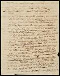 Draft of a Letter from Chief John Ross to Lewis Ross