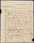 Unsigned Letter from Chief John Ross to William Shorey Coodey