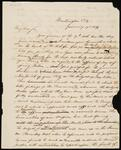 Copy of Letter from Chief John Ross to J. R. Tyson