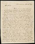 Letter from William Potter Ross to Chief John Ross