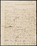 Draft copy of letter from Chief John Ross to George Lowrey