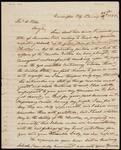 Unsigned Letter from Chief John Ross to Reverend W. Potter