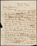 Incomplete and Unsigned Draft of Letter from Chief John Ross to Secretary of War Joel R. Poinsett