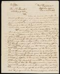 Copy of Letter from Commissioner of Indian Affairs C. A. Harris to Secretary of War Joel R. Poinsett