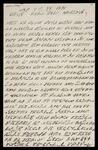 Letter written in the Cherokee syllabary