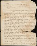 Copy of Letter from Chief John Ross to Georgia Governor George R. Gilmer