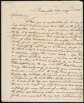 Draft Copy of Letter from Chief John Ross to Samuel Webb and John Truman