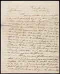 Letter (Copy and Draft) from Chief John Ross to Samuel Webb and John Truman