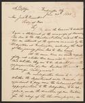 Letter from Chief John Ross to Joel Roberts Poinsett
