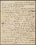 Unidentified Memo Relating to Letter of July 25, 1838