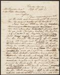 Draft Copy of Chief John Ross' Reply to a Letter