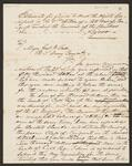 Requisition from Chief John Ross to General Winfield Scott