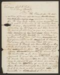 Letter from Chief John Ross to General Winfield Scott