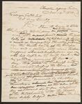 Letter to Major General Winfield Scott