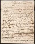 Letter from Chief John Ross to Thomas N. Clark