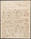 Letter from A. Yell to Chief John Ross