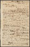 Copy of Letter from Chief John Ross to M. Stokes