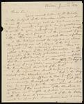 Letter from Jeremiah Evarts to William Wirt