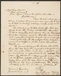 Letter from Chief John Ross and George Lowrey to John Brown