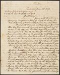 Letter from Chief John Ross to Brigadier General Matthew Arbuckle